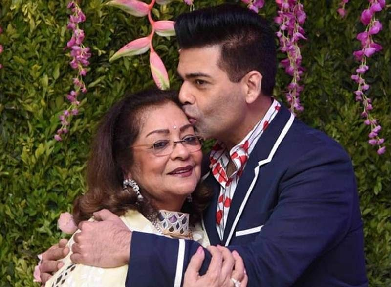 Karan Johar's mom Hiroo Johar's birthday bash: Sonu Nigam's song made mother-son duo teary-eyed; watch the video