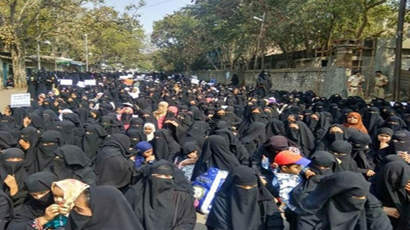 Thane: Muslim women take to Mumbra's streets for their demands