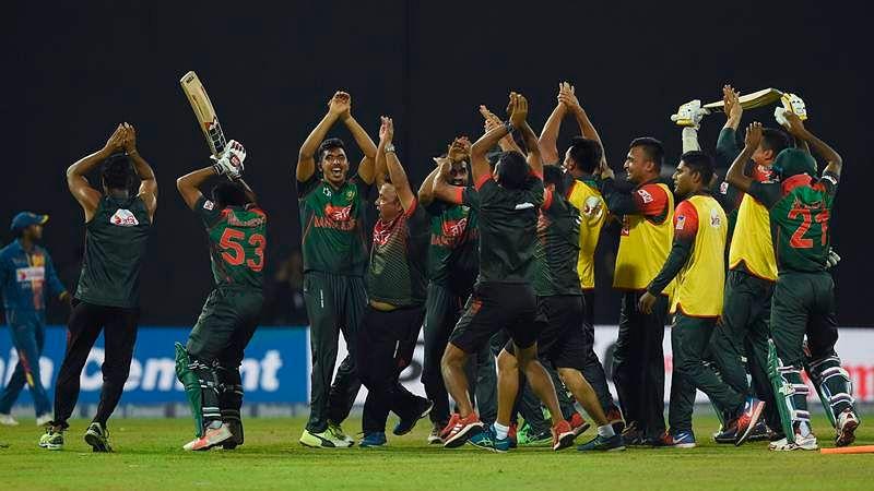 Nidahas Trophy: Bangladesh beat Sri Lanka to enter final
