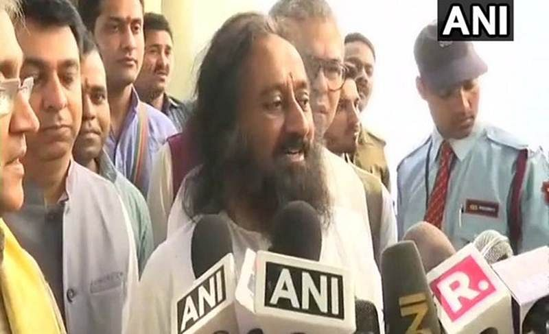 "Ayodhya dispute: ""There is lot of goodwill, cooperation from Muslim community"", says Sri Sri Ravi Shankar"