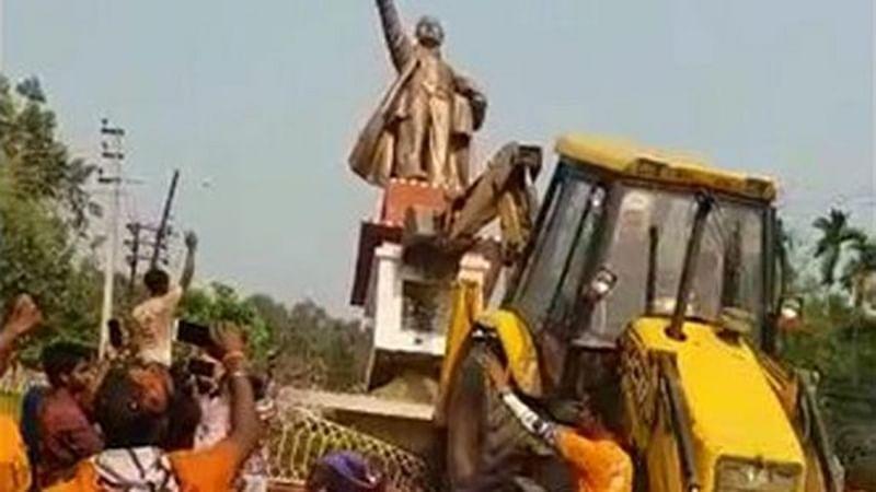 Tripura: People 'oppressed' by Left may have brought down Vladimir Lenin's statue, says Giriraj Singh