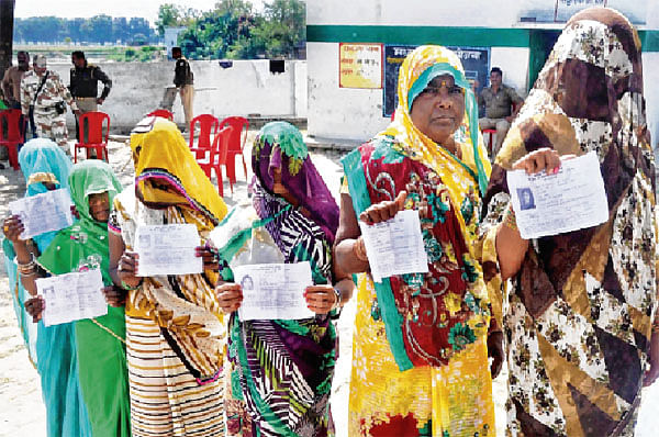 Low turnout in Phulpur and Gorakhpur bypolls