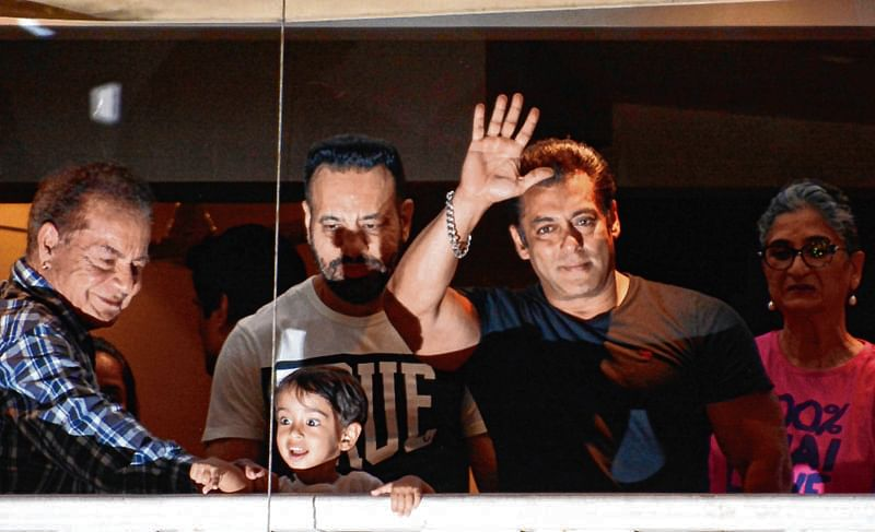SALMAN OUT ON BAIL