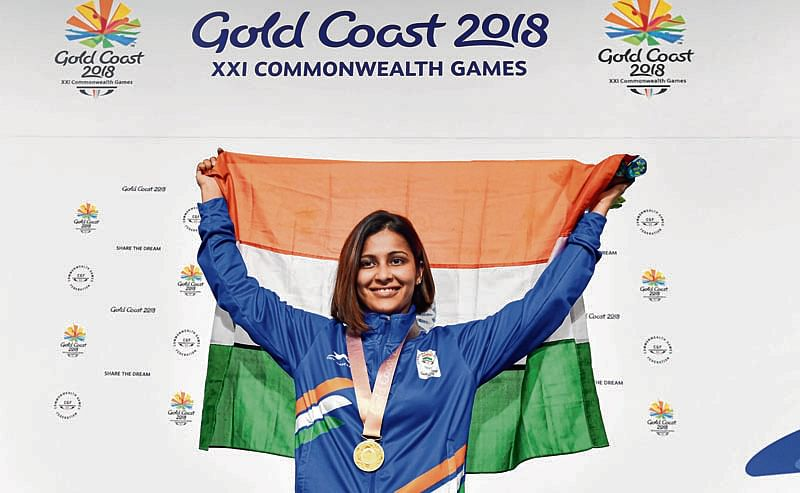Heena on target, clinches gold again