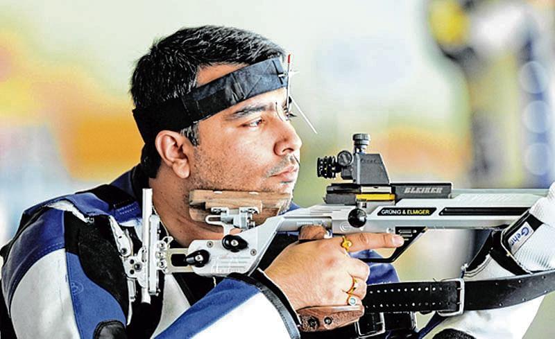 Gagan, Chain falter in men's 50m Rifle Prone