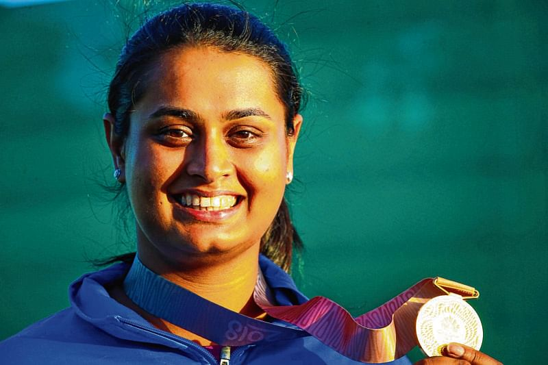 Shreyasi extends India's domination