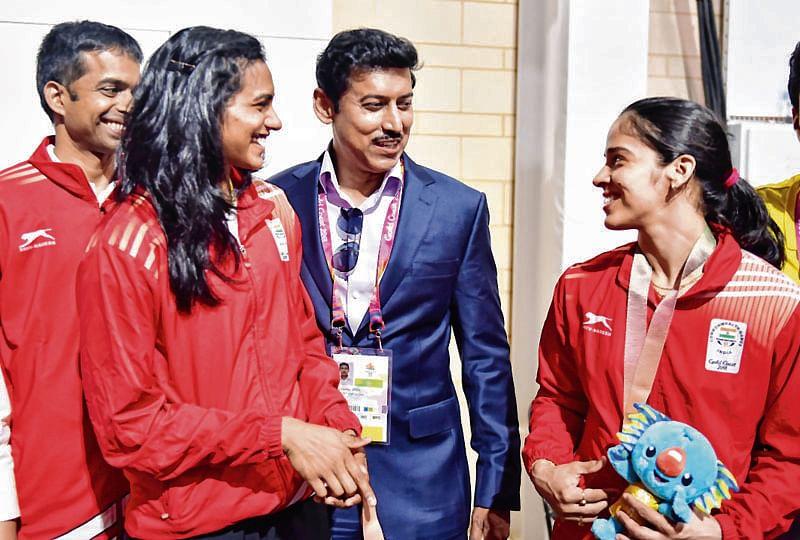 Saina subdues Sindhu for gold