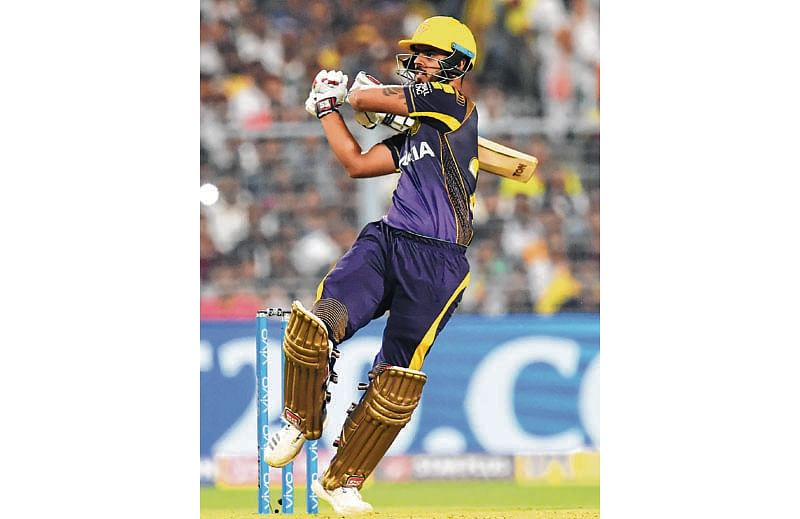 KKR's Rana, Russell power proves too much