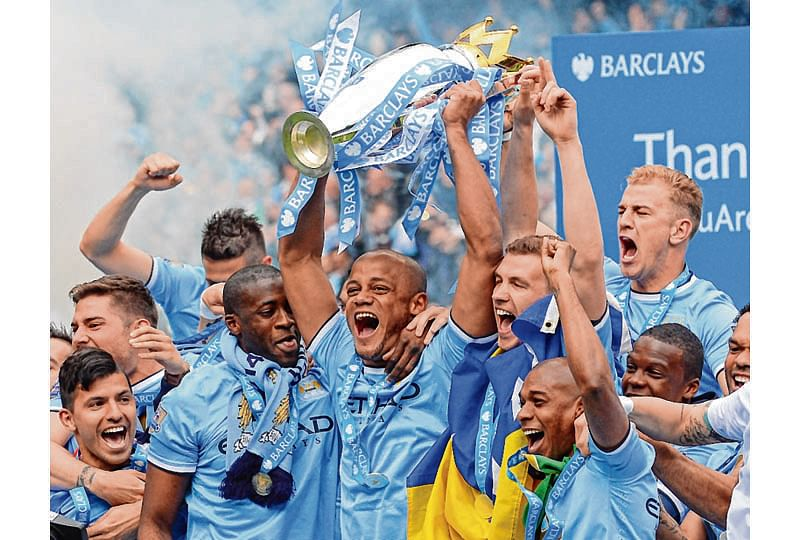 City eyes record books after title