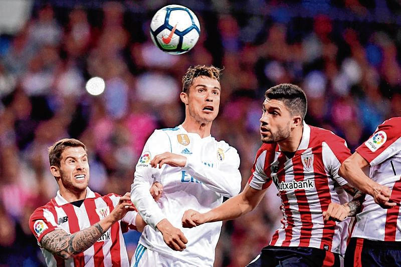 Real Madrid held to draw at home by Athletic Bilbao