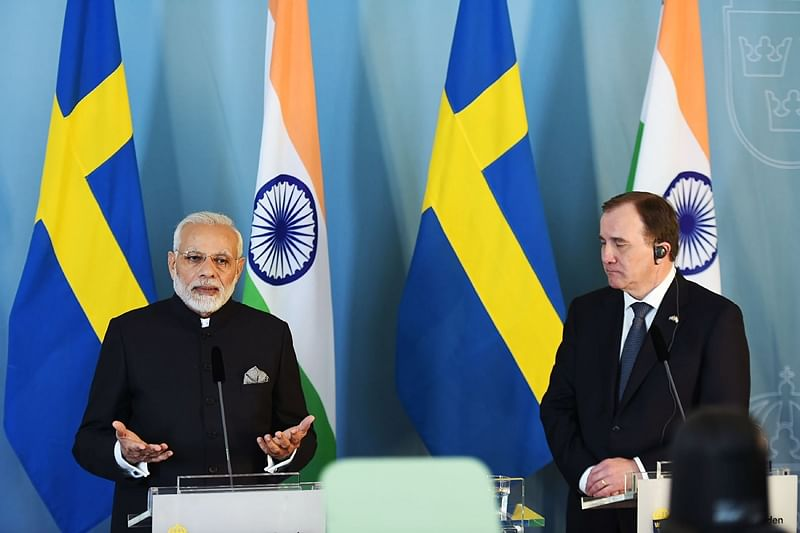 Government worked hard for building developed, inclusive India: PM Narendra Modi in Sweden