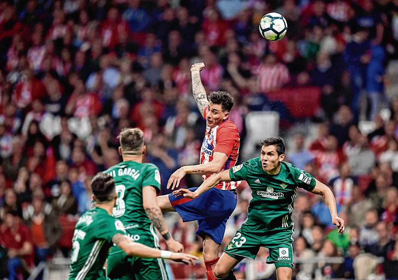 Atletico draws with Betis