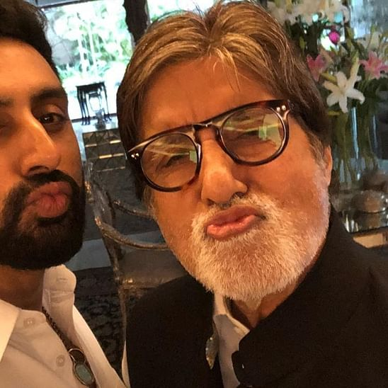 Here's what doting dad Amitabh Bachchan told Abhishek when he said he was 'not made for this industry'
