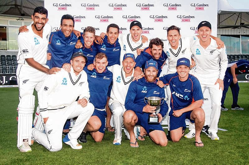 Gritty New Zealand tail secure draw, series win against England