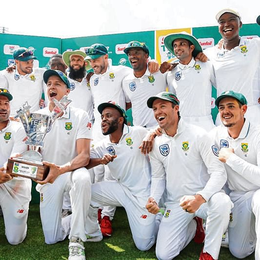 South African cricketers test negative for coronavirus after returning from India