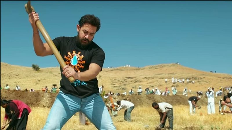 Aamir Khan's Paani foundation to do 'Massive Mahashramdaan' on Maharashtra Day