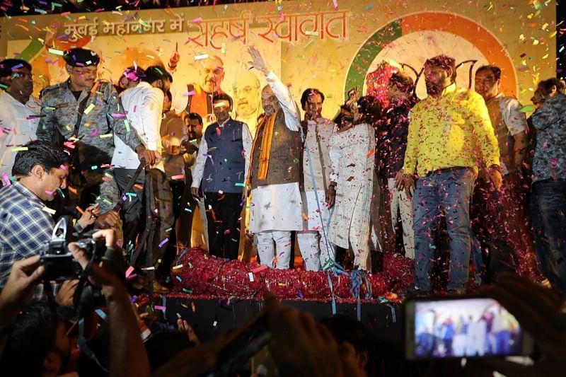 Amit Shah to address mega BJP rally at BKC, Mumbaikars brace for traffic jams