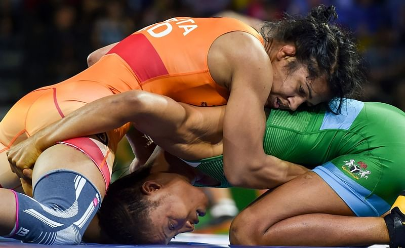 Commonwealth Games 2018: Babita Phogat settles for silver in 53kg category