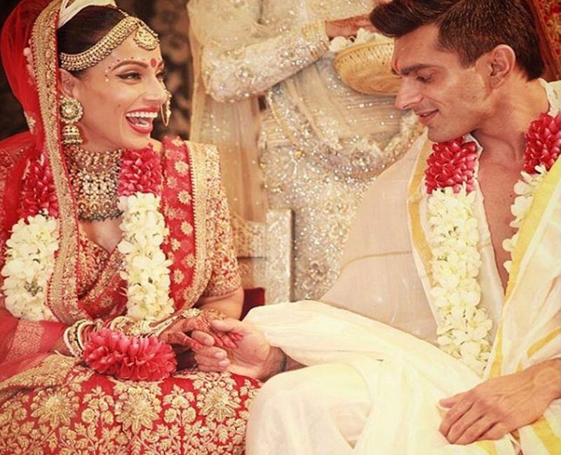 Bipasha Basu and Karan Singh Grover's wedding picture