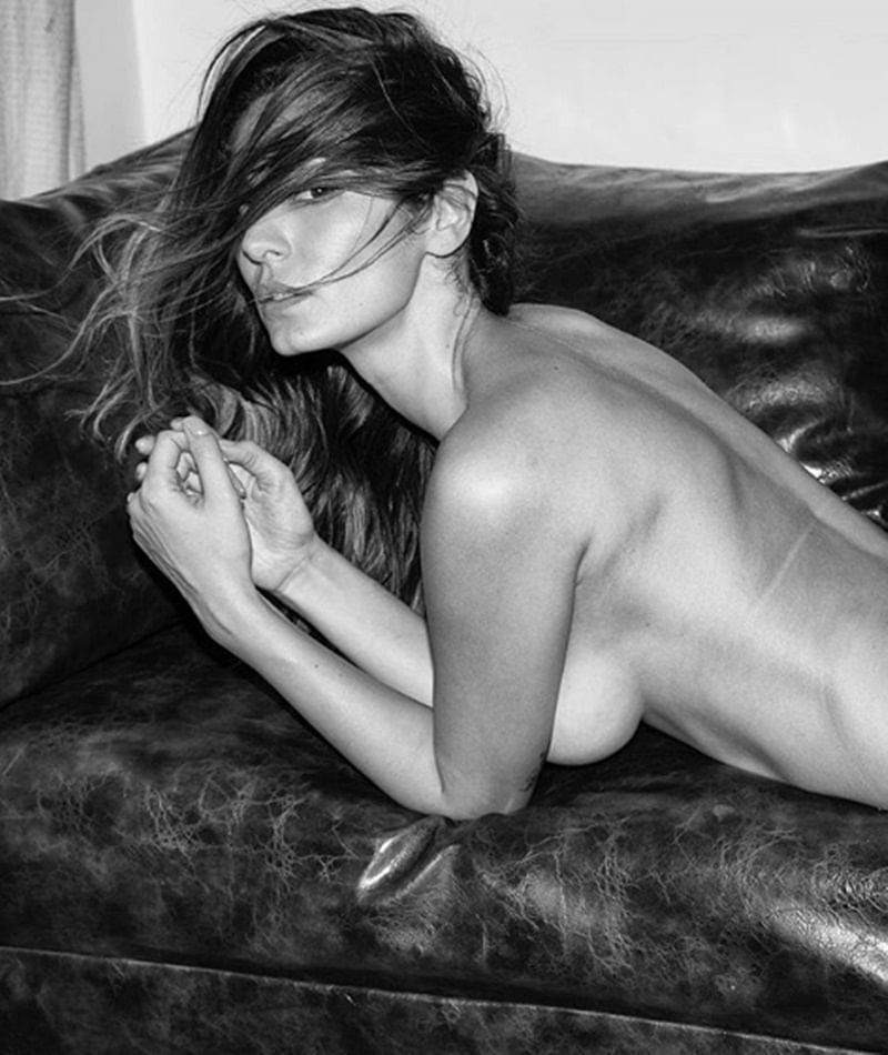 Brazilian model-actress Bruna Abdullah flaunts her assets in latest topless picture; check out