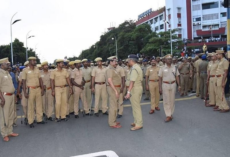 IPL 2018: 4,000 police personnel deployed for CSK and KKR in Chennai