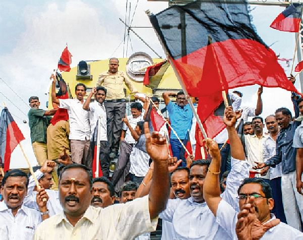 Protests engulfs TN for Cauvery Mgmt Board