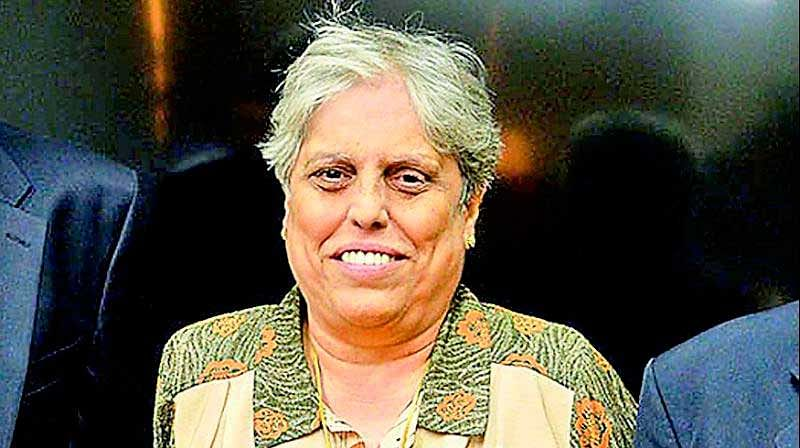 Celebrating International Women's Day, Diana Edulji to present coin at toss during 3rd ODI between India and Australia at Ranchi