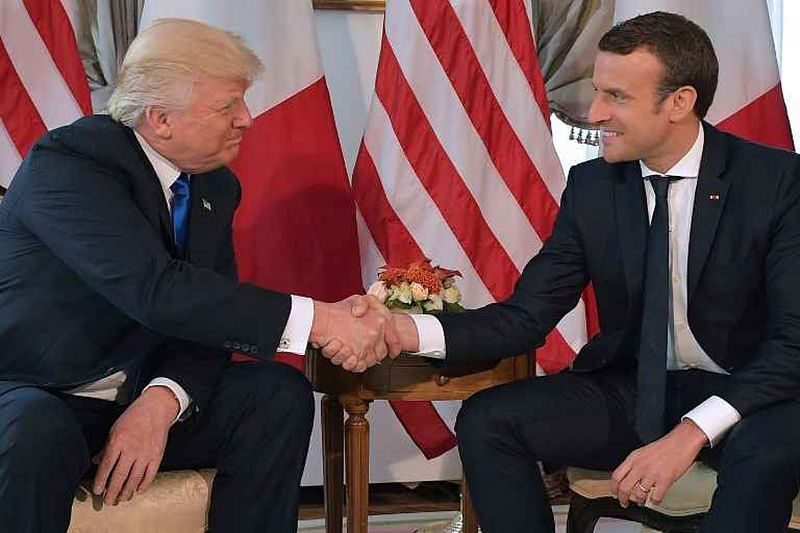 Donald Trump, Emmanuel Macron to discuss Iran deal in next week's meeting