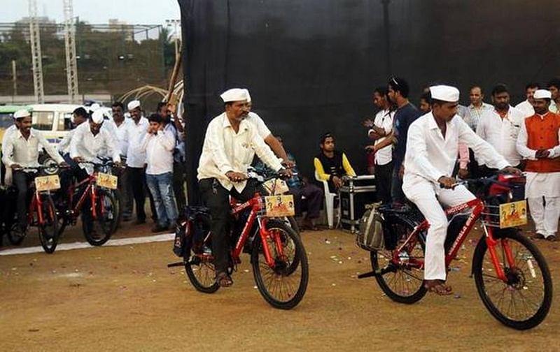 Mumbai: Dabbawalas get boost of e-cycles