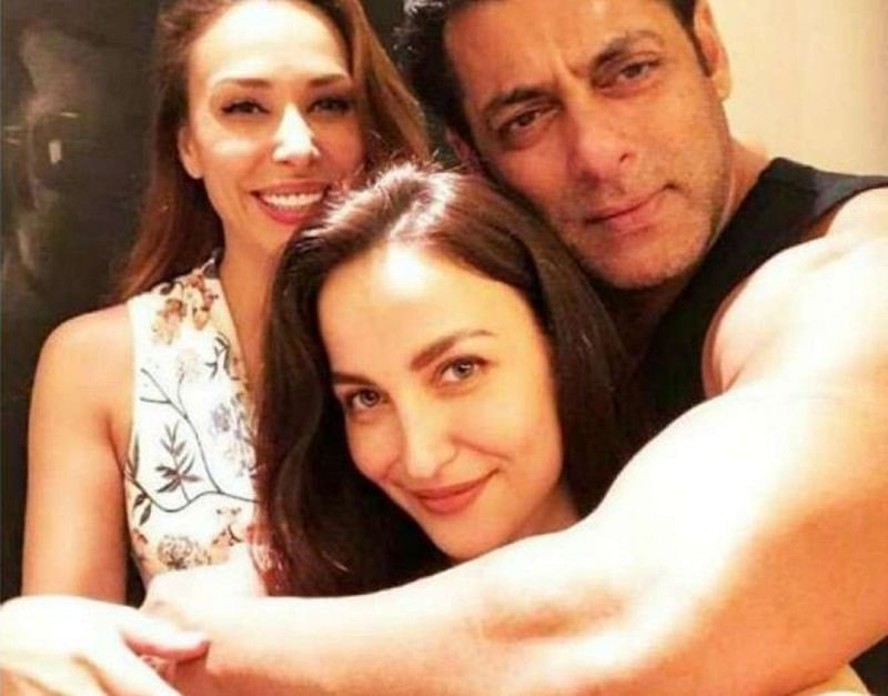 Elli AvrRamdeleted a candid picture with Salman Khan & Iulia Vantur; find out why