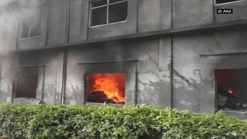 Punjab: Major fire breaks out in Ludhiana factory, 100 fire tenders used to douse the fire