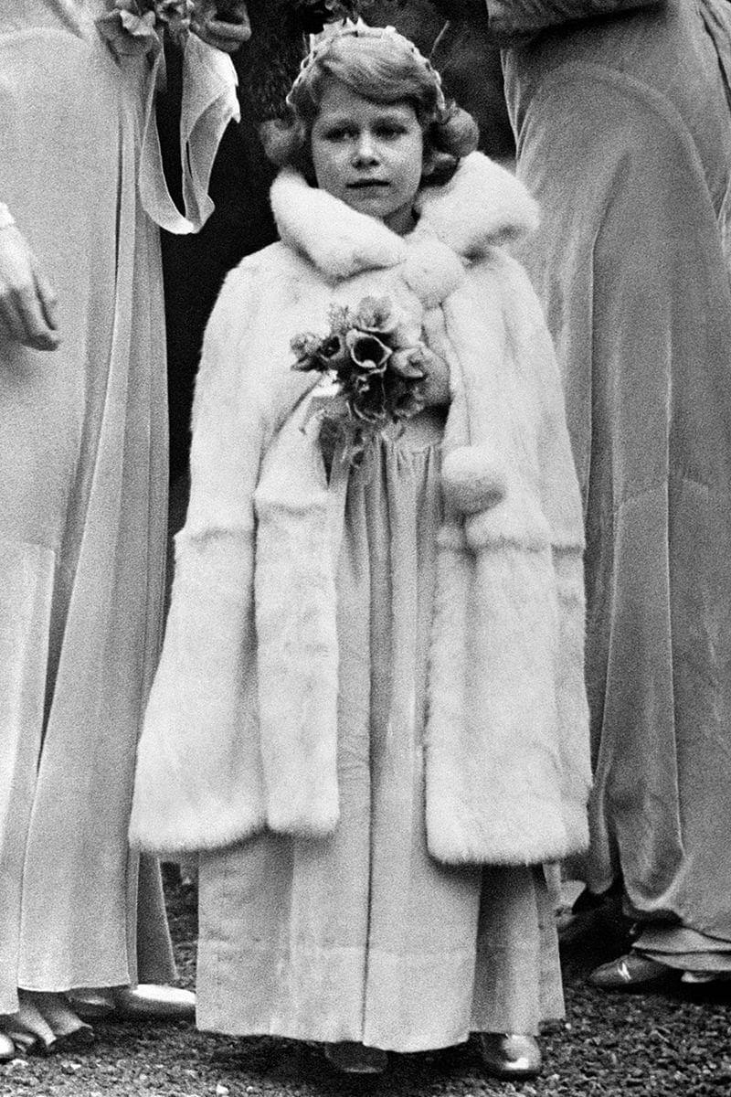 In pictures: 14 looks of Queen Elizabeth II at royal weddings