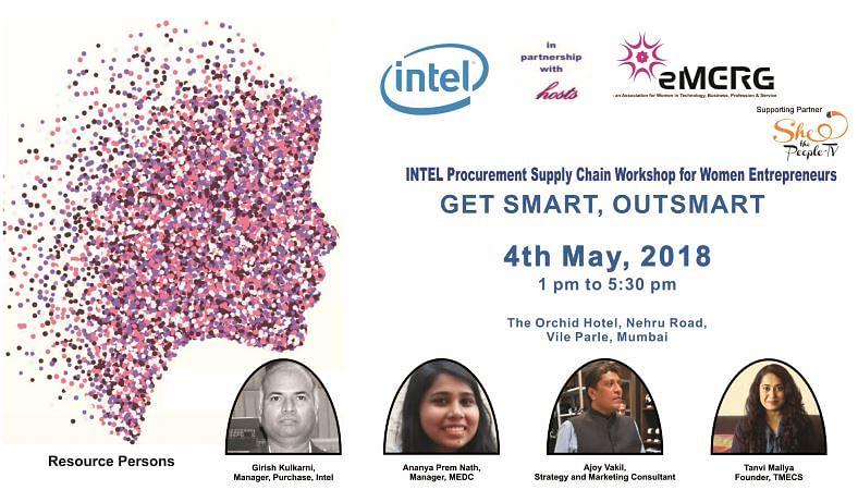 GET SMART, OUTSMART: Workshop for Women Entrepreneurs on May 4th