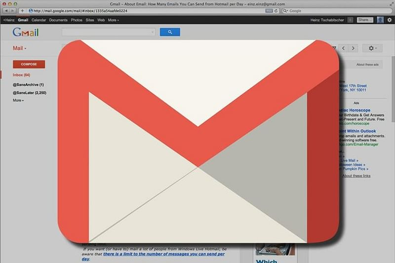How to add email signatures on Gmail account