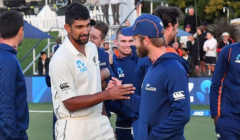 New Zealand vs England 2nd Test: Sodhi, Wagner guide hosts to draw and series win