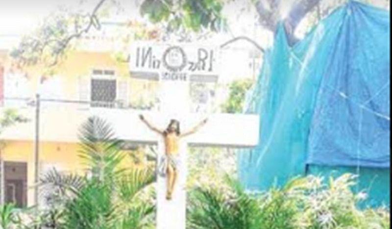 Mumbai: Disturbed Christians demands CCTVs installed after Holy Cross desecrated at Khar