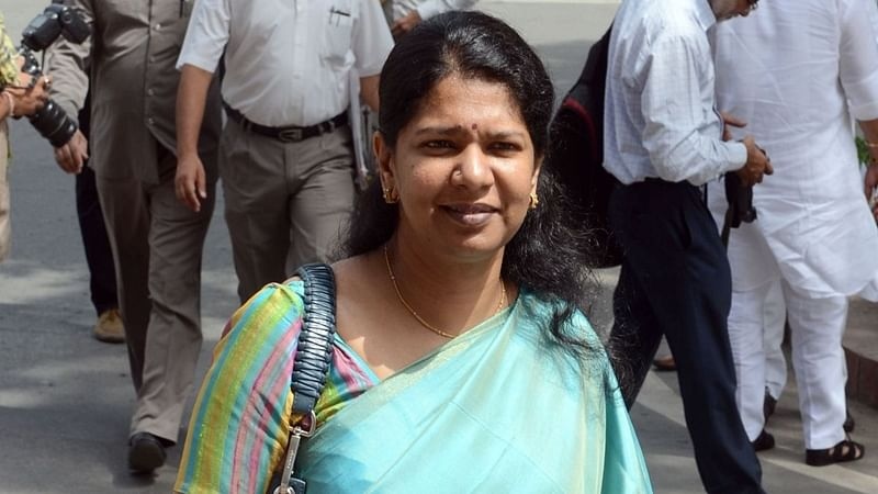 DMK MP Kanimozhi detained after opposition parties' protest