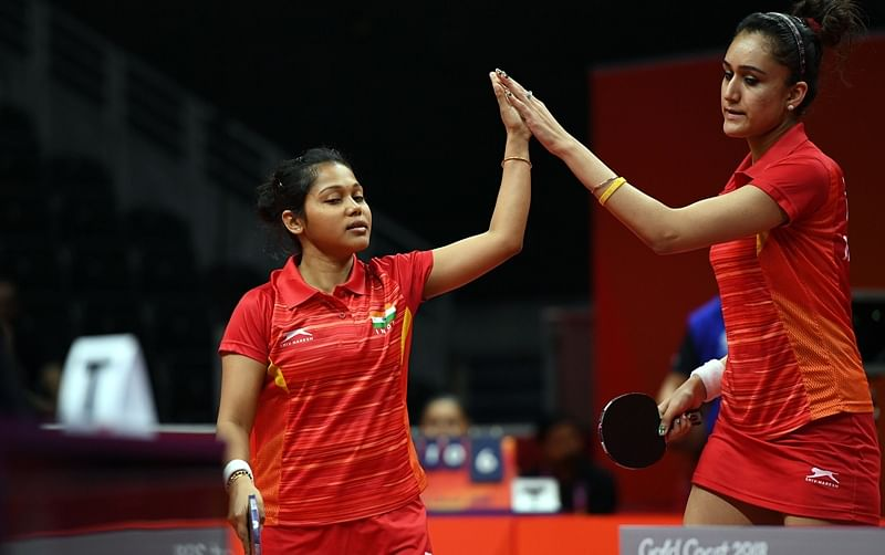 Commonwealth Games 2018: Manika Batra, Mouma Das win maiden silver in women's doubles Table Tennis