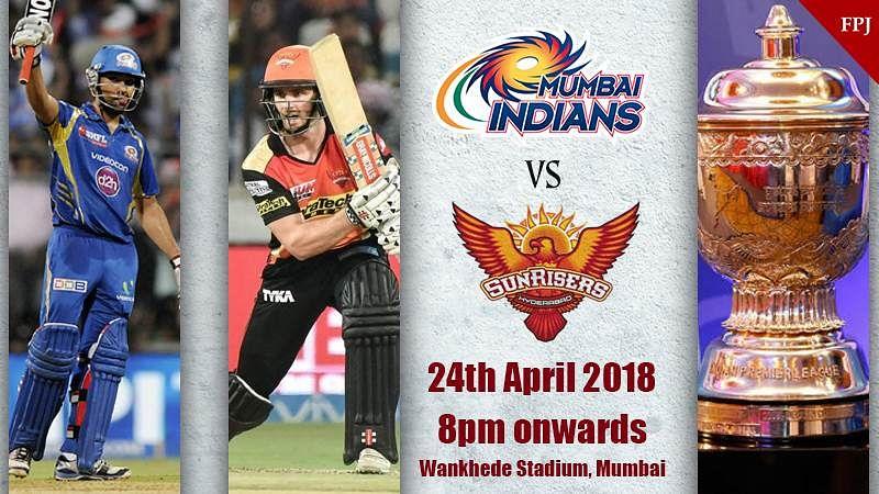 IPL 2018 Match 23 MI vs SRH: Live scores, Match updates, Commentary