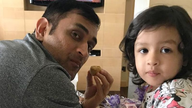 National Girl Child Day 2019: Suresh-Gracia Raina, MS-Ziva Dhoni; meet 10 adorable father-daughter duos of Team India