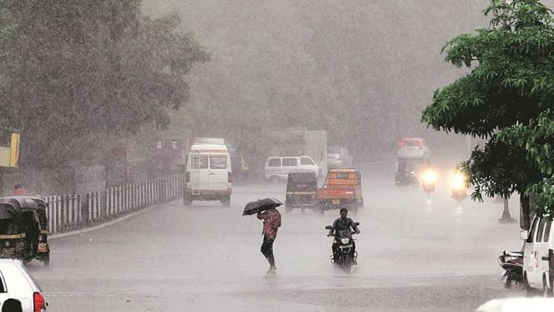 Thane residents get panic due to heavy rains