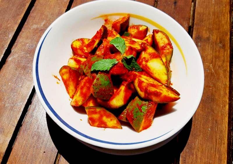 Mango Pickle by Chef Narayan Salunke