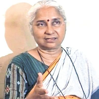 Indore: Water via link project to 70 cities just vote politicssaysMedhaPatkar