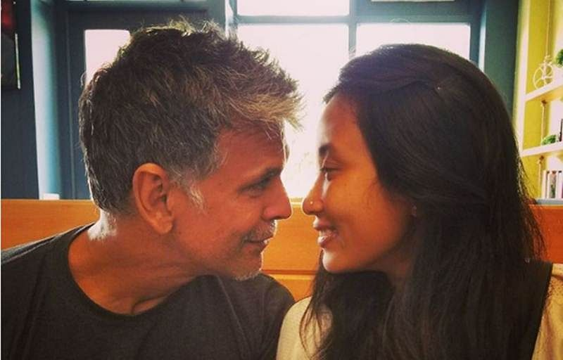 Milind Soman and Ankita Konwar rest the rumours of split by posting this picture, check it out