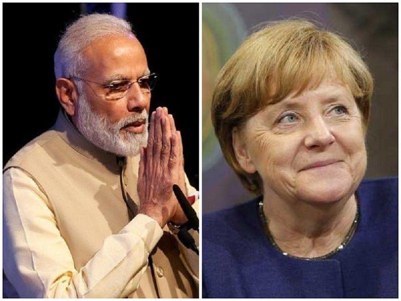 PM Narendra Modi to meet German Chancellor Angela Merkel on way back from Britain