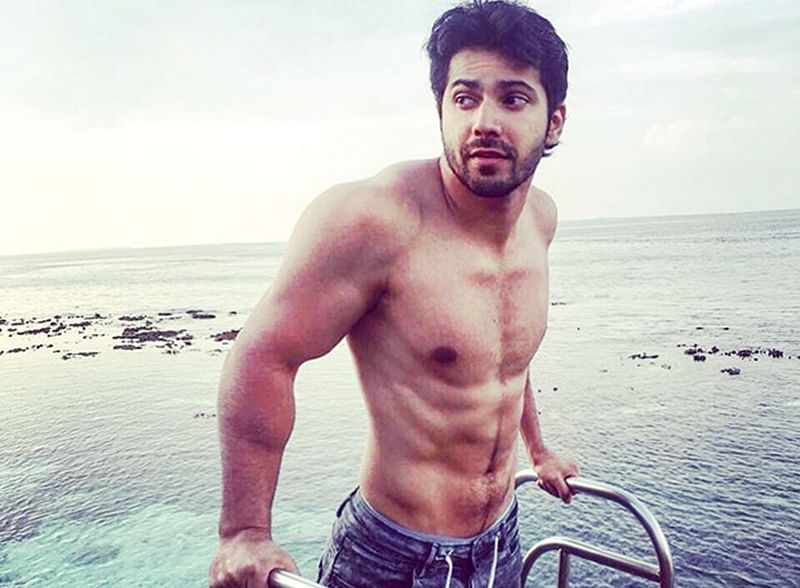 Monday Motivation: 10 hot, shirtless pics of 'October' star Varun Dhawan that will inspire you to shine