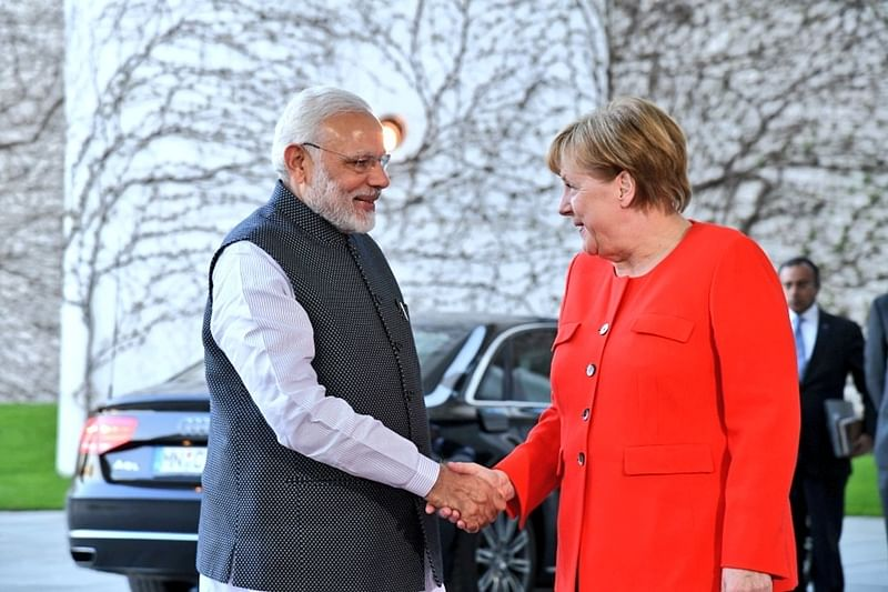 PM Narendra Modi holds talks with German Chancellor Angela Merkel