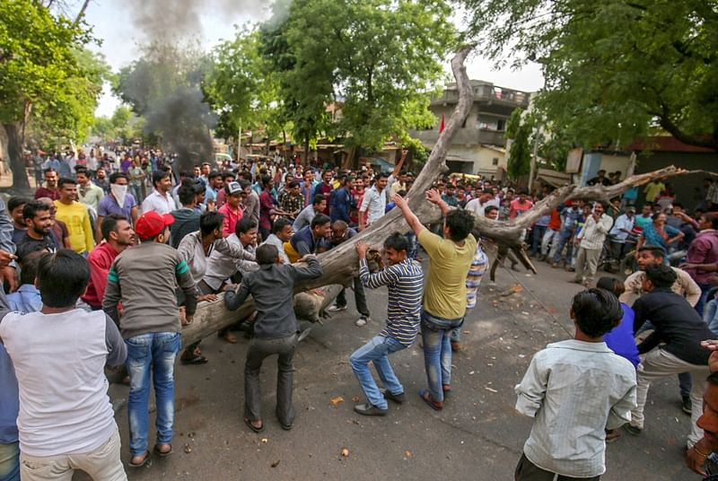 Rajasthan: Houses of BJP, Congress Dalit leaders set on fire by violent mob, curfew imposed