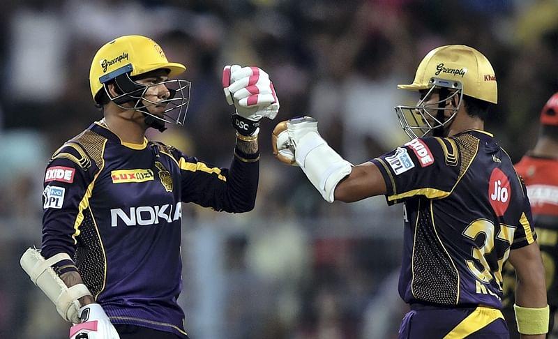 IPL 2018: KKR rides on Nitish Rana, Sunil Narine's show to beat RCB by 4 wickets