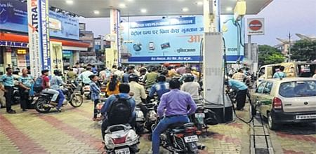 Bhopal: VAT, cess and Syria mess causing petrol price hikesayspetrol pump dealers